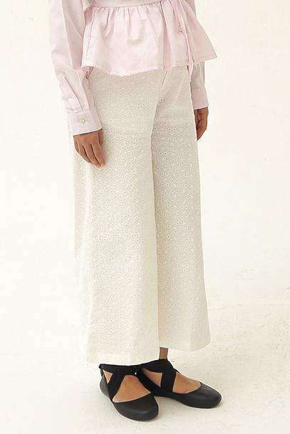 Alaia Pants Off White - EESOME