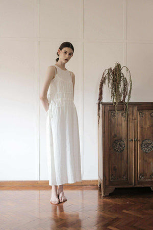 Karen Dress Off White EESOME