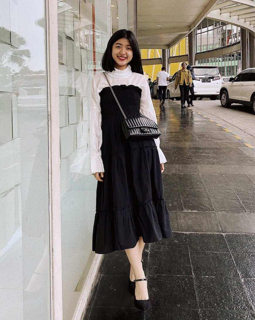 Laurent Skirt Black EESOME