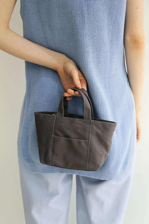 Mini Pastel Bag Charcoal EESOME