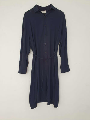 Noel Shirt Dress Navy EESOME