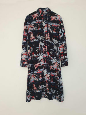Noel Shirt Dress Xmas Black EESOME