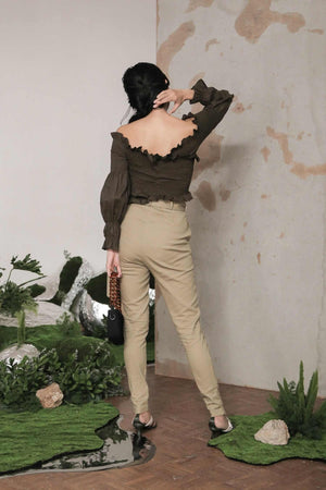 Pippa Pants Khaki EESOME