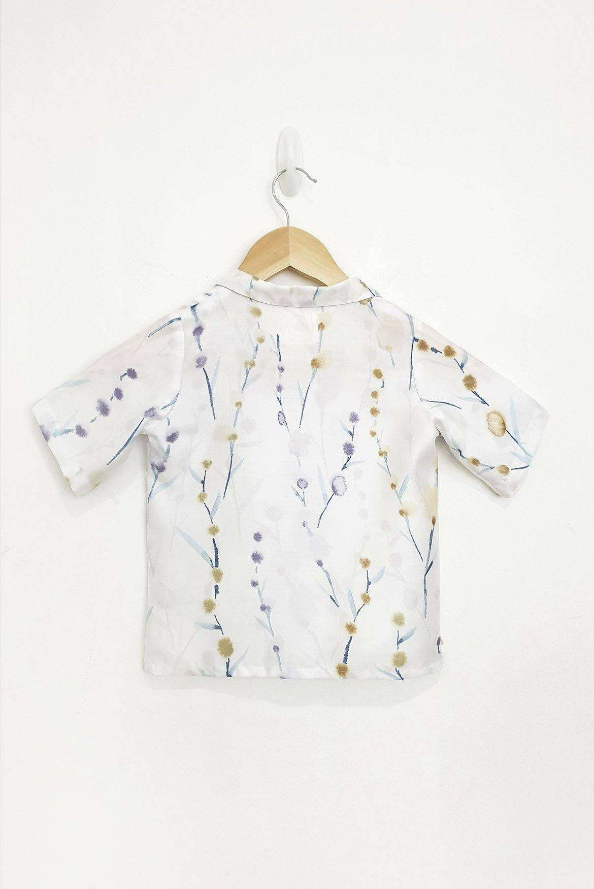 Brook Printed Petit Shirt