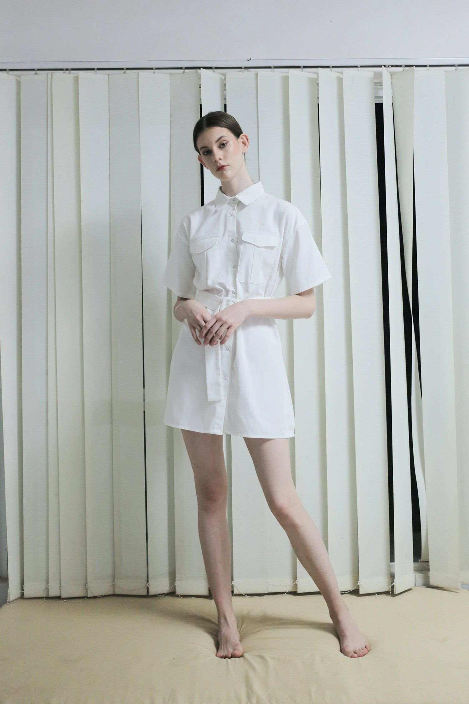 Safa Dress Off-White EESOME
