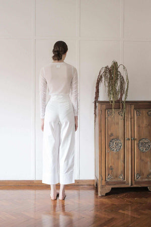 Safa Pants Off White EESOME