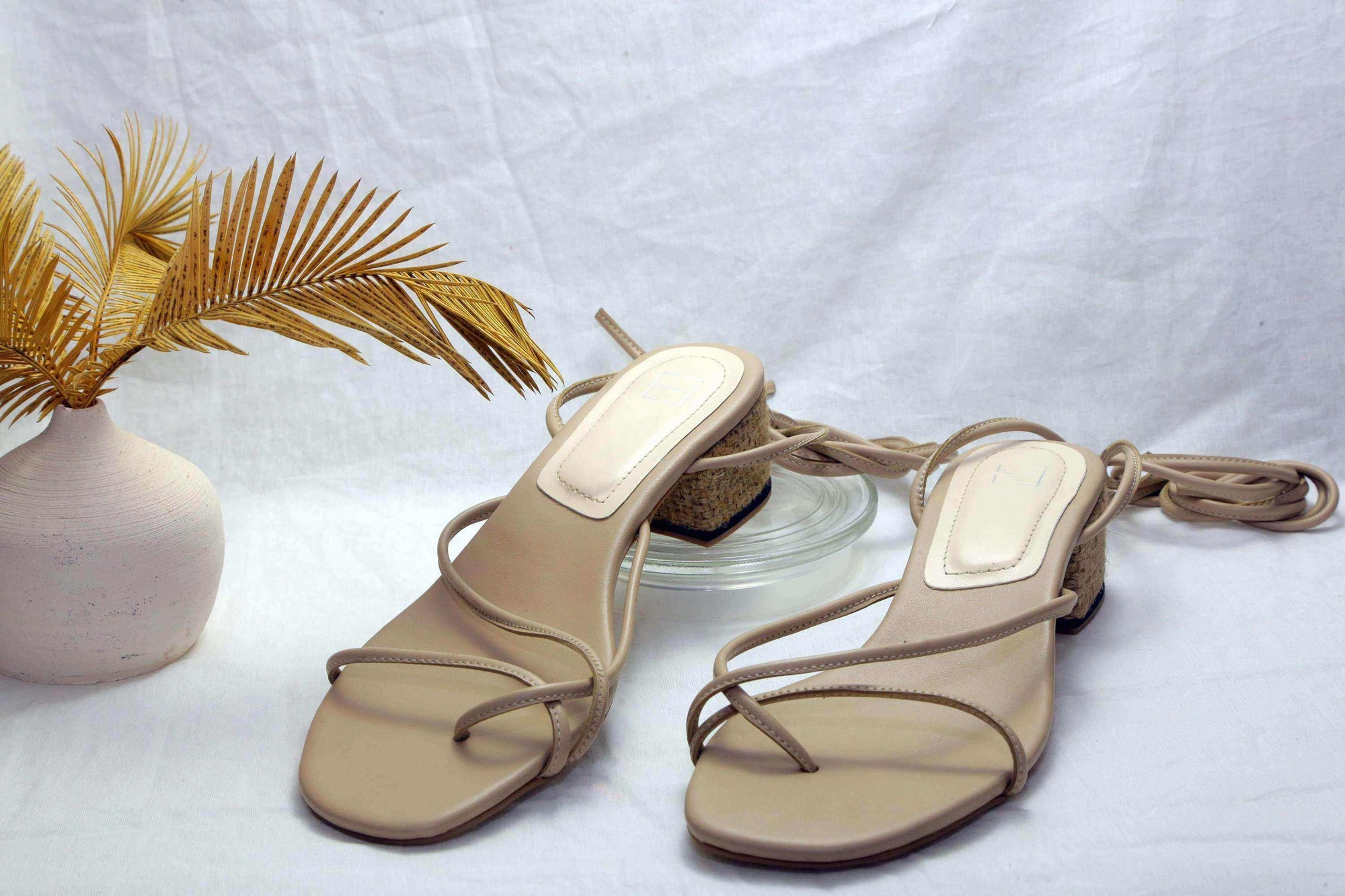 Tali Sandals Nude EESOME