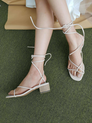 Tali Sandals Off white EESOME