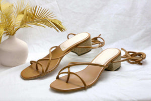 Tali Sandals Tan EESOME