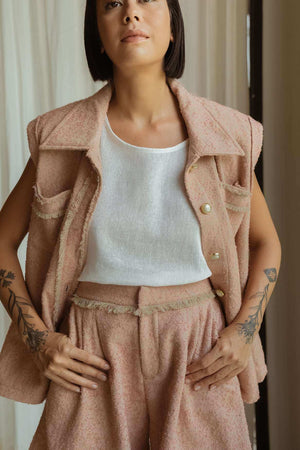 Gemma Shorts Dusty Pink - EESOME