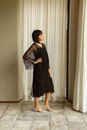 Thea Dress Black - EESOME