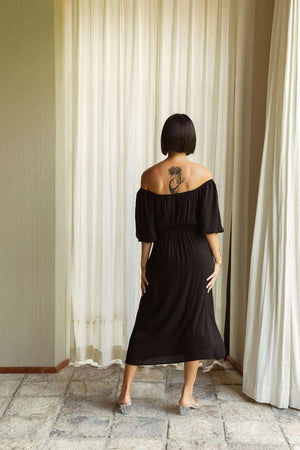 Maya Dress Black - EESOME