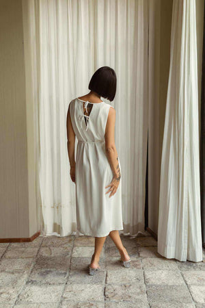 Lily Dress Off White - EESOME