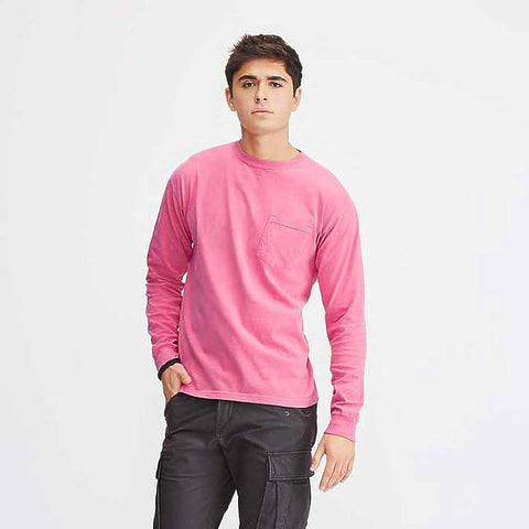 CC Long Sleeve Pocket Tee 4410