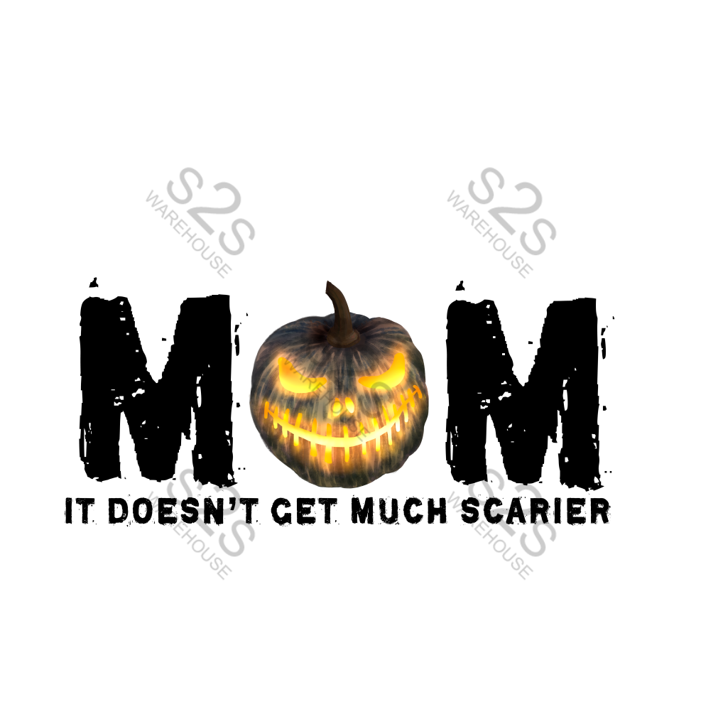 Mom Scary Pumpkin
