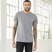 BC Tri-blend Solid Colors Unisex Tee- 3413