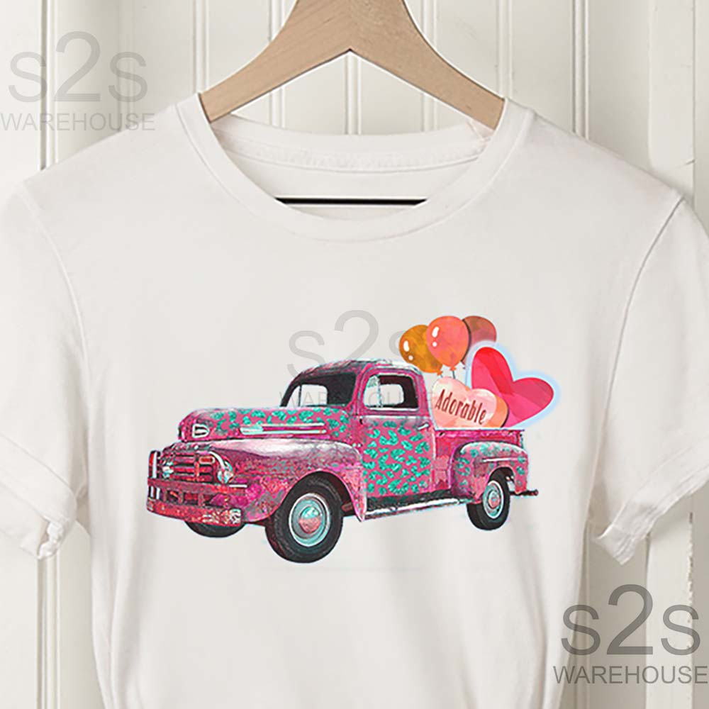 Adorable Pink Truck