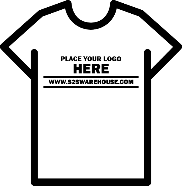 Digital Transfer Shirt Mock-up 11 x 8.5 - Landscape