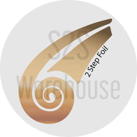 S2S Warehouse vinyl roll with bright gold color for 2 step foil for HTV and adhesive