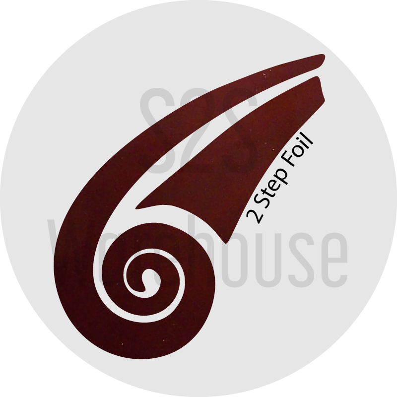S2S Warehouse vinyl roll with burgundy color for 2 step foil for HTV and adhesive