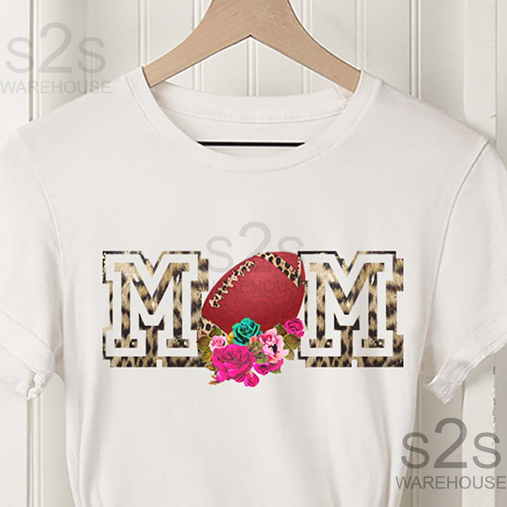 Football Mom Jersey Letter
