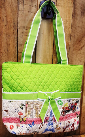 Quilted Medium Convertible Bag