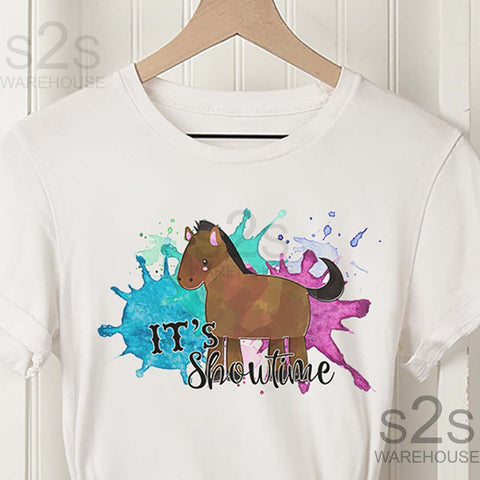 Kids Horse Showtime Shirt
