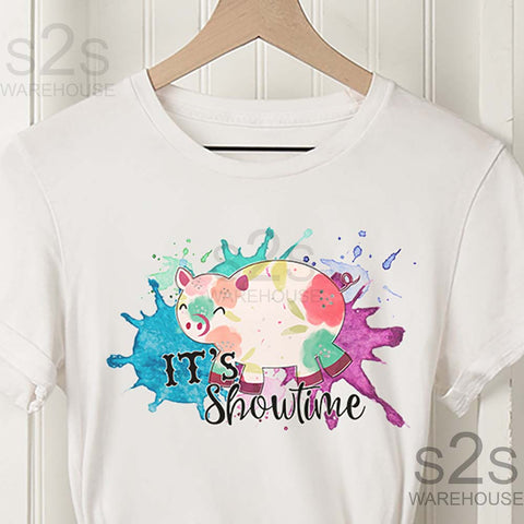 Kids Pig Showtime Shirt