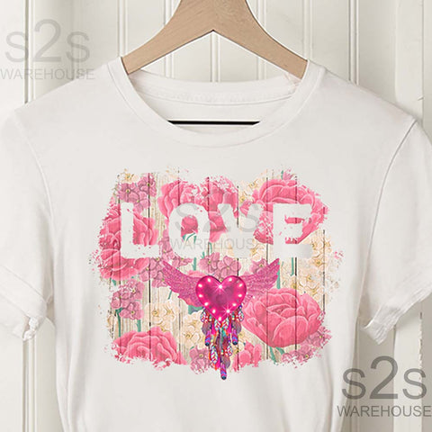 Love Floral Heart