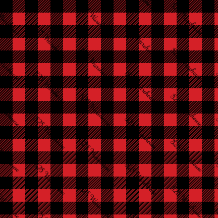 PV - Plaid Red (Buffalo)