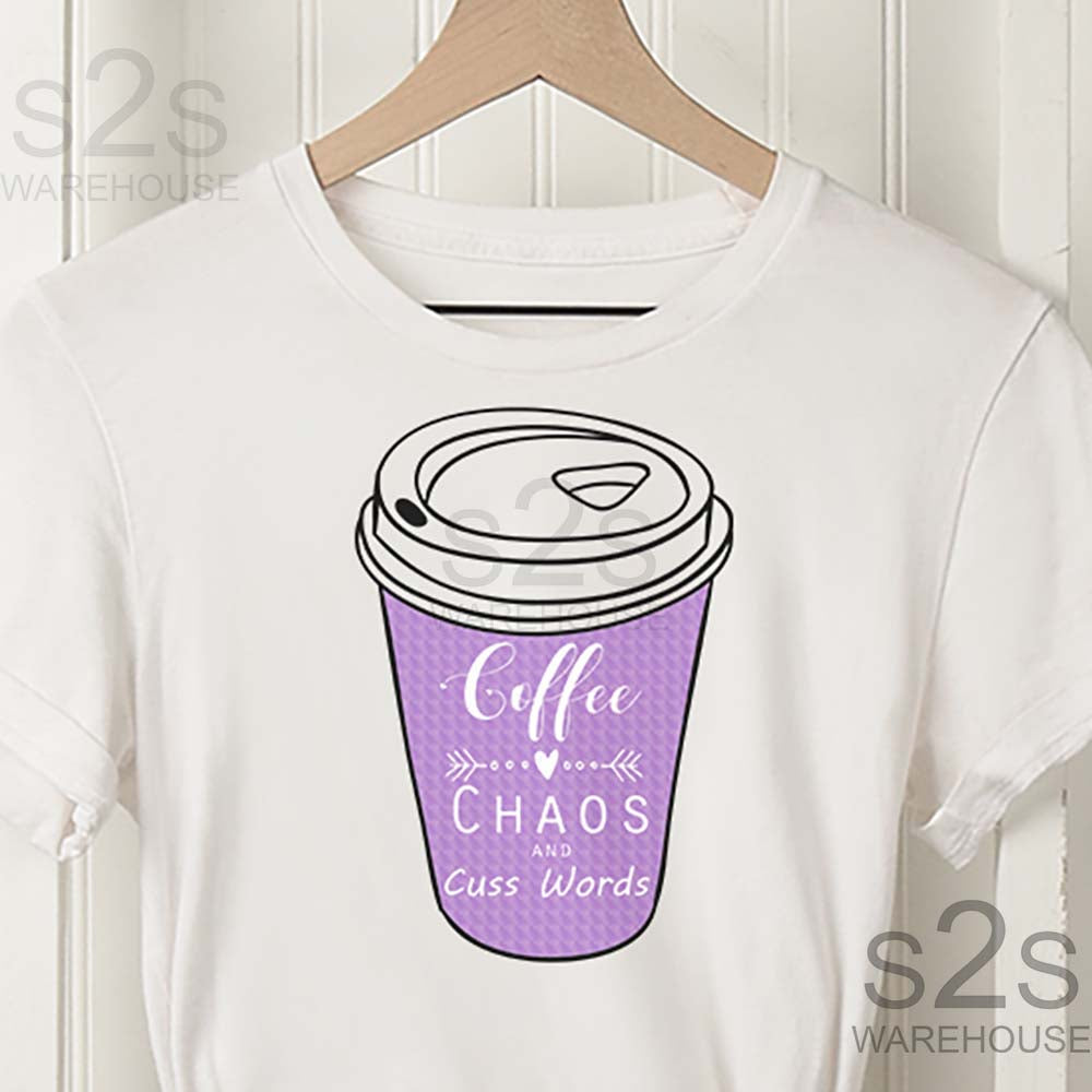 Purple Coffee Chaos Cuss