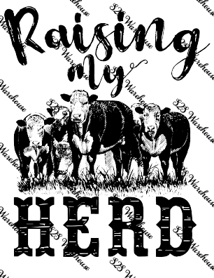 Sub Print - Raising My Herd