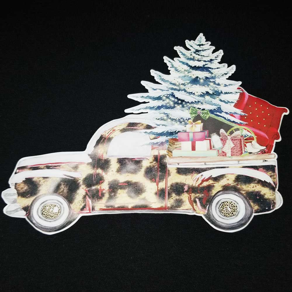 Press Ready - Truck Leopard with Tree