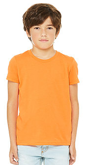 BC Jersey Short Sleeve Youth Tee - 3001Y