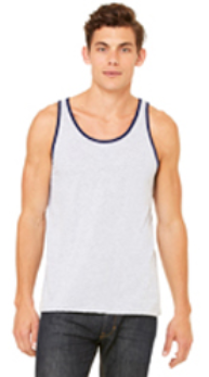 BC Jersey Tank with Contrast - 3480