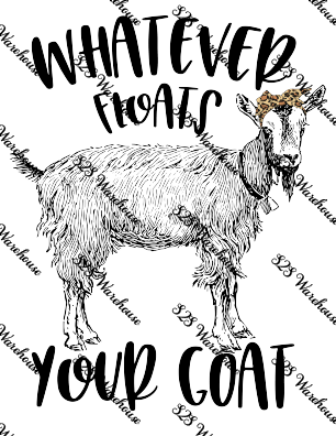 Sub Print - Floats Your Goat