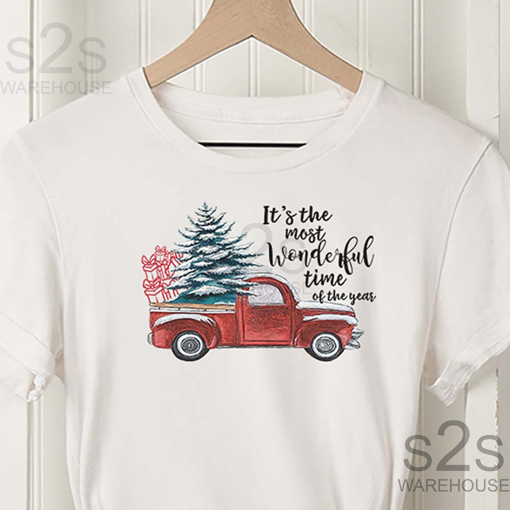 Wonderful Christmas Red Truck X