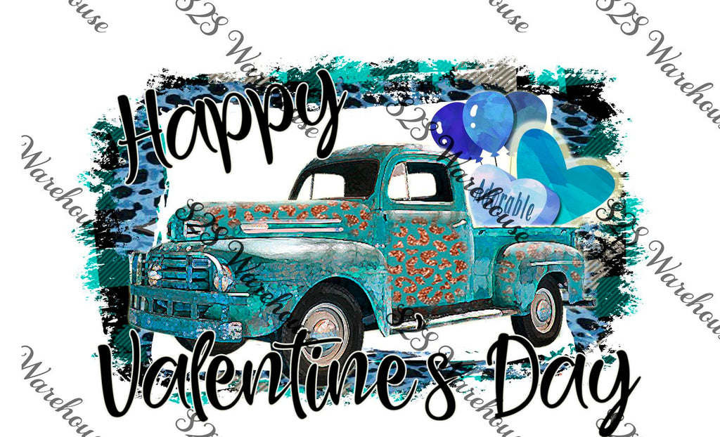 Blue Valentines Truck Splash