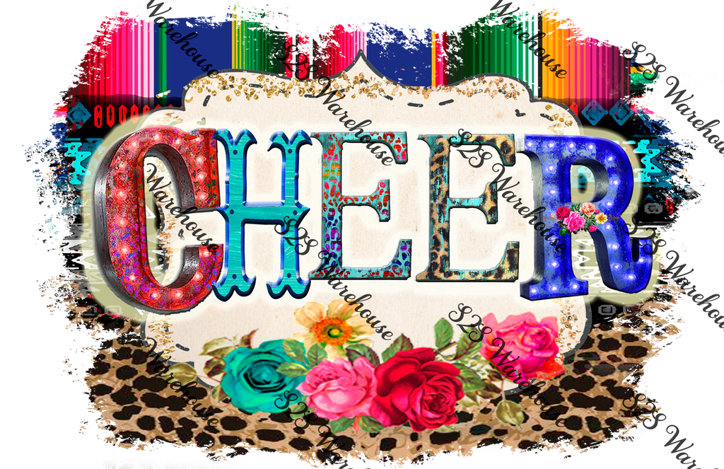 Cheer Serape Logo