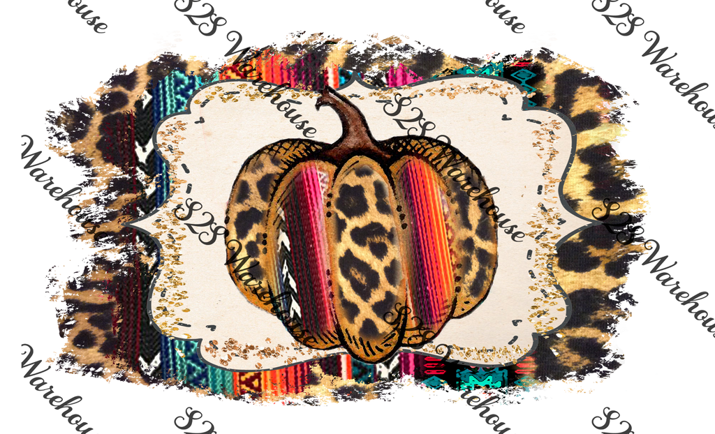 Cheetah Serape Fall Background