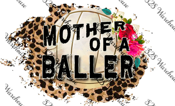 Floral Mother Baller Volley