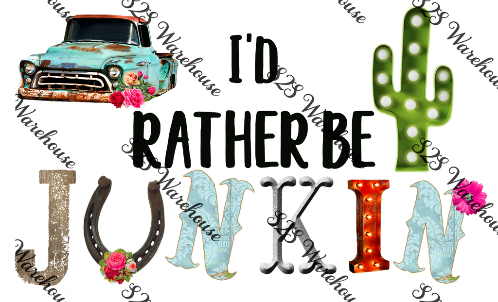 Rather Be Junkin
