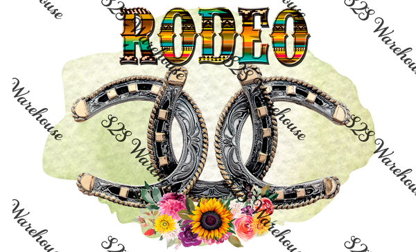 Rodeo Horseshoe Buckle