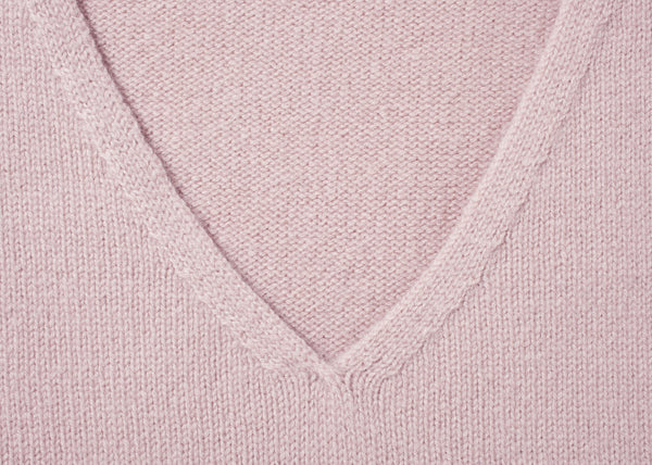 "COZY V-NECK SWEATER ""ALVA"""