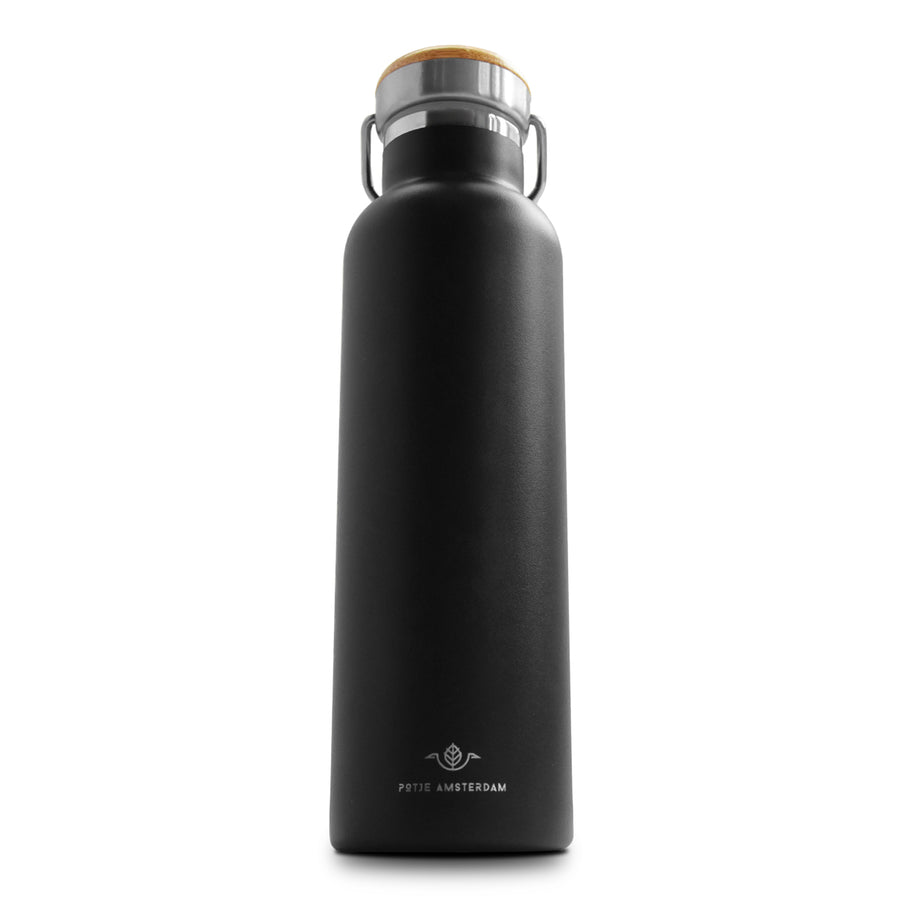 Potje Amsterdam Go Bottle Black