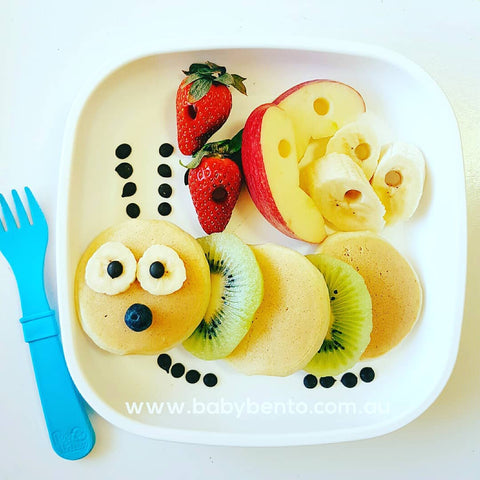 The Hungry Caterpillar Pancake in Replay Plate