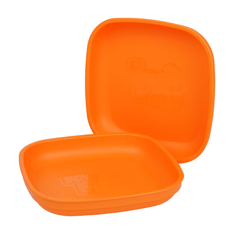 Re-Play Flat Plate - Orange
