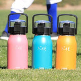 Double Wall Insulated Drink Bottle - 600ml - Pink