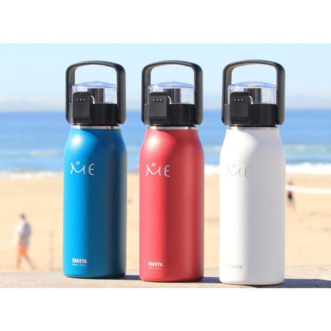Double Wall Insulated Drink Bottle - 800ml - White - BabyBento
