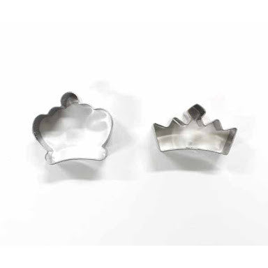 Stainless Steel Food Cutter - Crown & Tiara - BabyBento